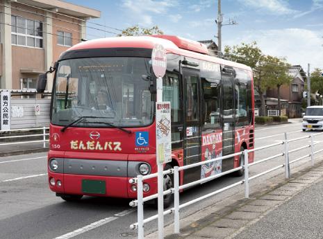 だんだんバス「義方小学校前」バス停
